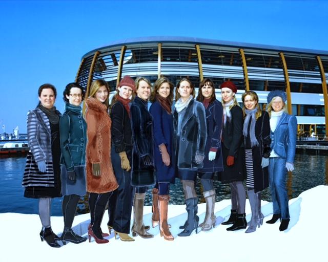 staande foto winterjas FFL